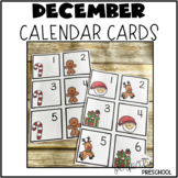 December (Christmas) Calendar Cards