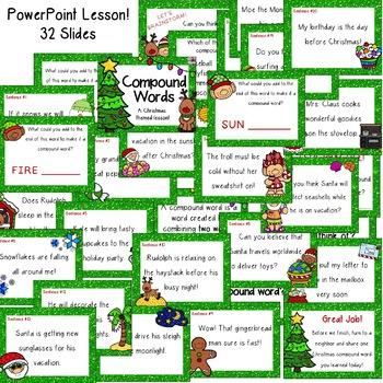 December & Christmas Compound Words [[Mini Unit]]
