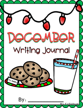 December/Christmas Differentiated Writing Journal- 20 NO PREP Prompts