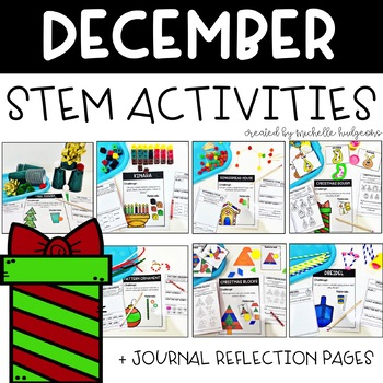 December Christmas Holidays STEM Activities
