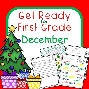 Get Ready for First Grade DECEMBER