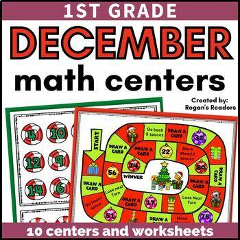 December Christmas Math Centers