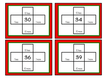 December/Christmas First Grade Math Centers Bundle