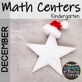 December Christmas Math Centers Kindergarten