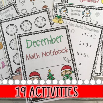 December Christmas Math Notebook (Math for the Entire Month!)