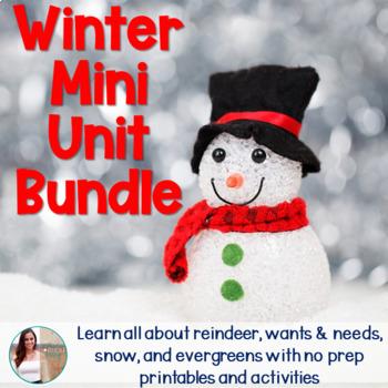 December/Christmas Non-Fiction Mini Unit Bundle