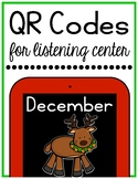 December Christmas QR Codes for Listening Center