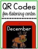 December Christmas QR Codes for Listening Center