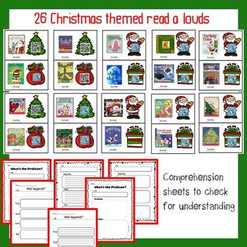 December Listening Centers-Christmas, Santa and More!