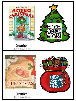December/Christmas QR Listening Center Freebie