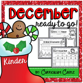 December {Christmas} Ready to Go Printables for Kindergarten