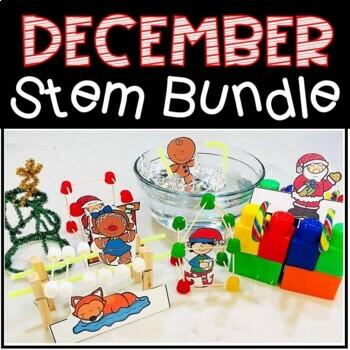 December {Christmas} STEM BUNDLE