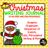 December Christmas Santa Writing Journal