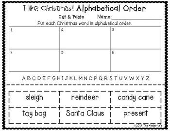 December Christmas Write the Room + 2 Bonus Activities