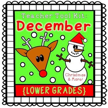 Christmas activities {lower grades}