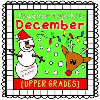 Christmas activities {upper grades}