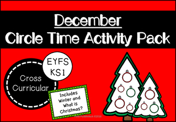 December Circle Time Activity Pack for Early Years