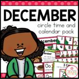 December Circle Time and Calendar Resources