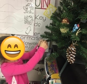 December Class Project - Decorate your class Christmas tree