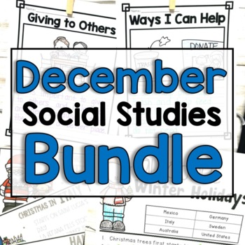 "December ""Click-and-Print"" Social Studies"