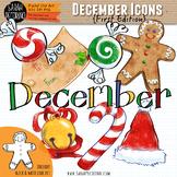 December Clip Art {First Edition}