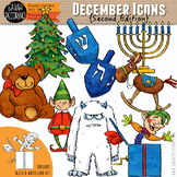 December Clip Art {Second Edition}