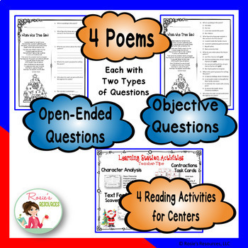 December - Christmas - Close Reading