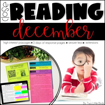 #merrymonday December Close Reading Passages