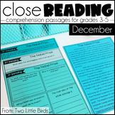 December Close Reading Passages