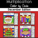 December Color by Code—Multiplication
