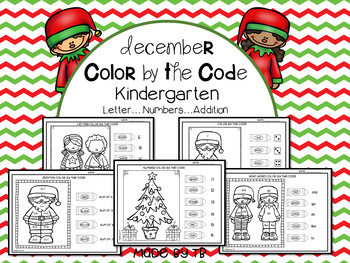 December Color by the Code