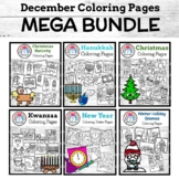 December Coloring Pages: Holidays Around the World, Christ
