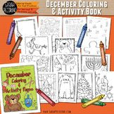 Christmas & Hanukkah Coloring and Activity Book
