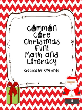 December Common Core Literacy & Math
