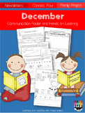 December Communication folder and Homework Packet