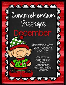 December Comprehension Passages