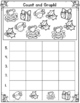 December Count and Graph It:  Graphing for Kindergarten