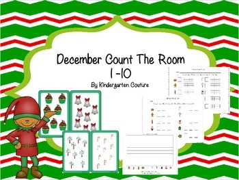 December Count the Room  1 -10