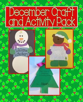 December Craft and Activity Pack