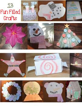 December Craftivities