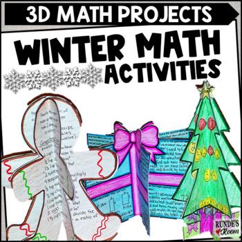December Craftivities - Math-Themed Craftivities for December