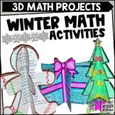 December Craftivities Upper Grade Math