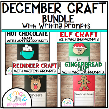 December Craftivities With Writing Prompts/Pages