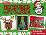 December Crafts for Monthly Skills Practice