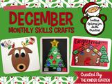 December Crafts for Monthly Skills Practice
