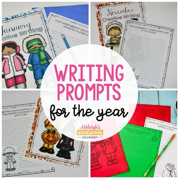 Creative Writing - Year Long Journals and Booklets