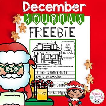 December Creative Writing Journal
