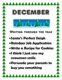 December Creative Writing Projects