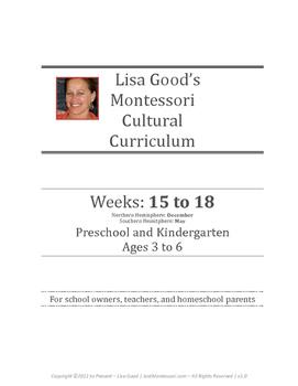 December Cultural Curriculum Weeks 15-18 (Northern Hemisphere)