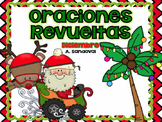 Oraciones revueltas Scrambled Sentences December in Spanish